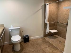 to show our ADA bathroom amenities